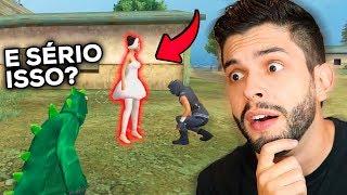 ELA ACEITOU?!? PEDIDO DE CASAMENTO NO FREE FIRE QUE DEU CERTO!