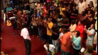 GMZ Greater Mt Zion Austin TX -  Kirk Franklin Concert Medley -12pm Part 1