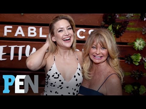 Goldie Hawn Dishes On Her Amazing Bond With Daughter Kate Hudson | PEN | Entertainment Weekly