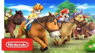 Mario Sports Superstars - Nintendo 3DS Horse Racing Trailer