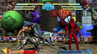 MARVEL VS. CAPCOM 3 - ALL SUPERS!