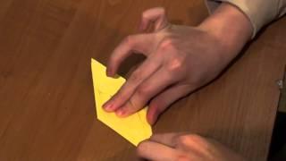 Оригами цветок ириса (видеоурок)  http://nashydetky.com(Сайт http://nashydetky.com