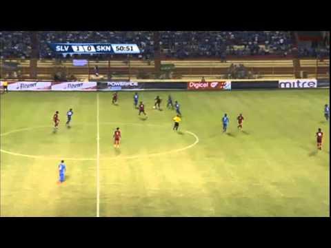 El Salvador vs Saint Kitts June 16, 2015