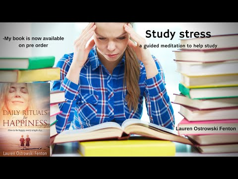 Guided meditation for Study stress- an...