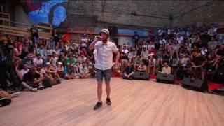 V1 Festival 2016 Rap Freestyle Battle - отборочный тур - Рома Вхлам