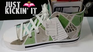 Scrapbook: Just Kickin It Sneaker & Mini Album