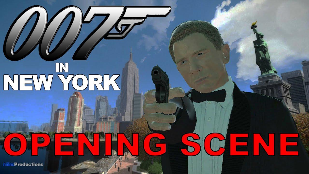Download GTA IV Machinima - 007 in New York (Opening Scene)