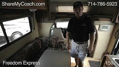21' Freedom Express #1592 RV Rentals Orange County California