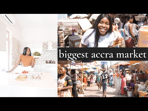 *wow* FOREIGNERS CANNOT GO TO THIS ACCRA GHANA MARKET ALONE!