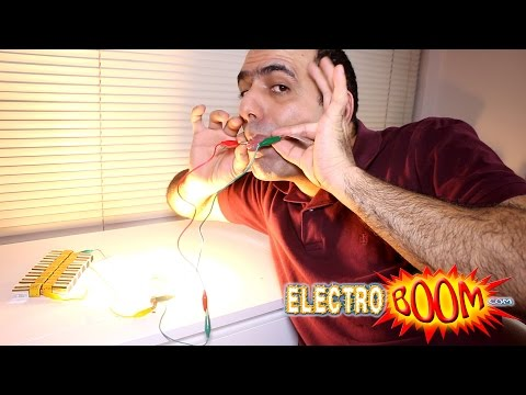 Electrical Tricks of Biba Struja the Battery Man