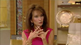 Susan Lucci interview Live With Kelly  11/25/2016 co-host Andy Cohen