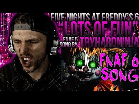 "Vapor Reacts #523 | FIVE NIGHTS AT FREDDY'S 6 SONG ""Lots of Fun"" by TryHardNinja REACTION!!"