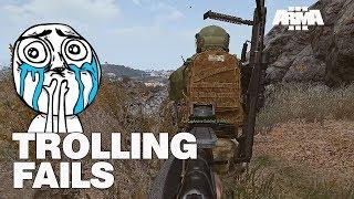 Trolling Fails - ARMA 3 RHS - bad day at work
