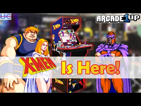 X-Men Arcade1up Cabinet Revealed And It Looks Amazing! from Unqualified Critics