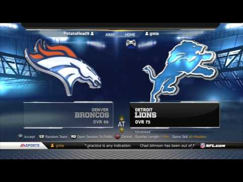 Madden NFL GAMEPLAY - Exclusive Interview With Broncos Head Coach
