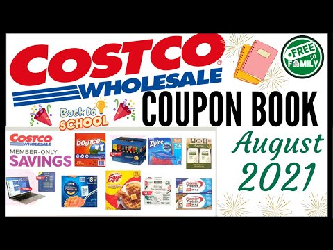 🚨 AUGUST 2021 Costco Coupon Book Preview!🔥Valid (8/4-8/29)