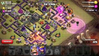 clash of clans th9 fulleme