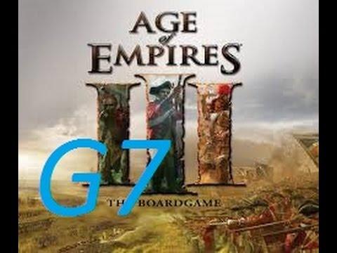 AOE III G7 amazing 2vs2 Port gameplay
