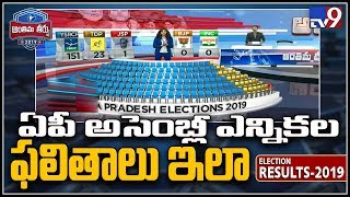 Election Results 2019: AP assembly candidates trail and lead positions - TV9