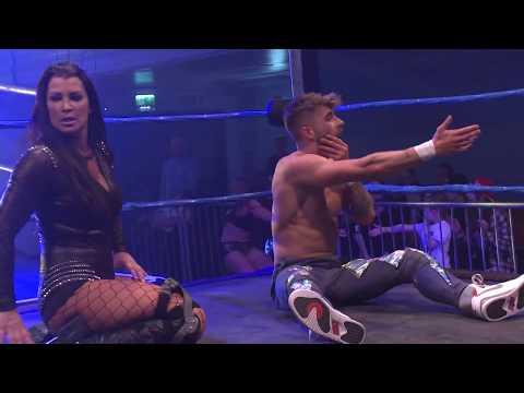 Kay Lee Ray & Stevie Xavier vs. Kenny Williams & Victoria (BCW)