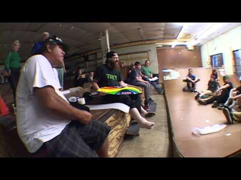 Larry Bertlemann At Riot Skatepark