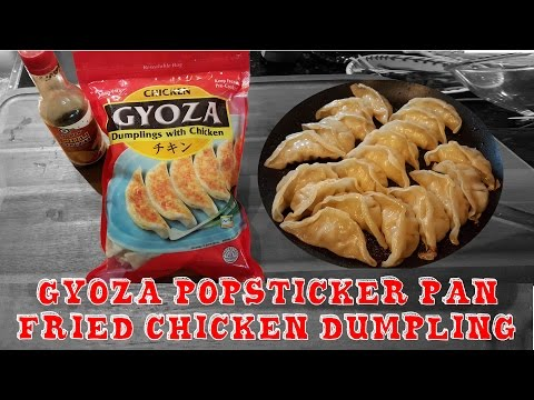 How to PrepareChicken  Frozen Potstickers or Pan Fried Dumplings
