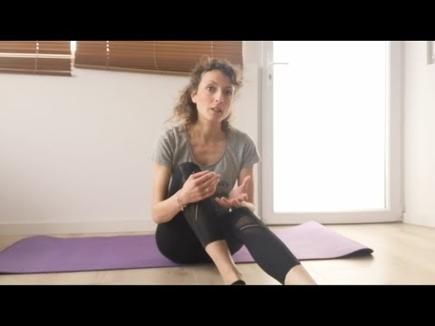 Cours de Pilates Mat<br>par Cindy Torino<br>Durée : 33 minutes