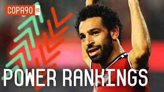Salah Could Be World Cup 2018's Star | COPA90 Power Rankings