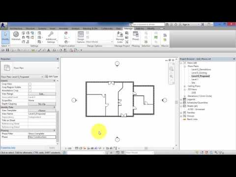 Module 9: Unit 1: Revit Architecture: Phases