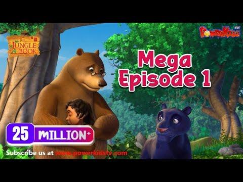 The Jungle Book Cartoon Show Mega Episode 1 | Latest Cartoon Series for Children