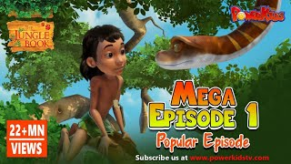 Gambar cover The Jungle Book Cartoon Show Mega Episode 1 | Latest Cartoon Series for Children