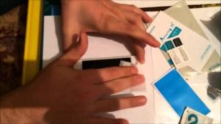 iphone 5s установка бронированного стекла(установка закаленного стекла и алюминиевой рамки., 2014-08-06T21:41:11.000Z)