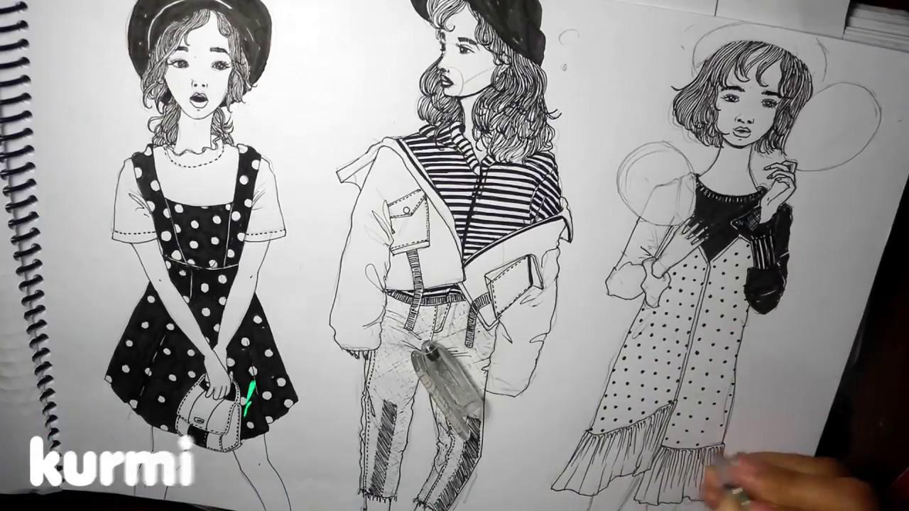 girl drawings tumblr Cute