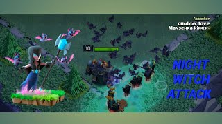 BUILDER BASE TH 7 NIGHT WITCH STRATEGY ATTACK (clash of clans)