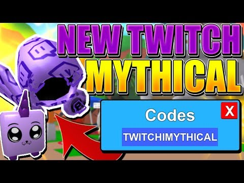 TWITCHICORN AND TWITCH DOMINUS CODES IN ROBLOX MINING SIMULATOR!