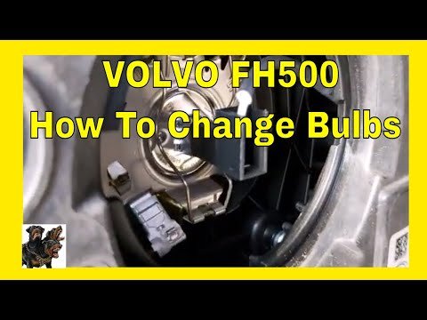 volvo truck headlight bulb replacement - And others
