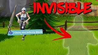 [EXCLUDEd] GLITCH FOR DEONINVISIBLE FORTNITE