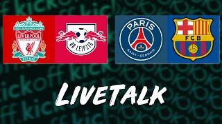 🔴 LIVE: Champions League Konferenz mit FC Liverpool vs. RB Leipzig & PSG vs. Barcelona