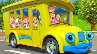 Wheels On The Bus + More Nursery Rhymes & Kids Songs by Little Treehouse