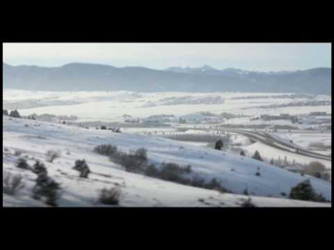 Bozeman Montana Time Lapse in Winter