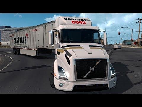 Volvo VNR 640 Interior Mejorado | Ruta de Tijuana a los Ángeles, California