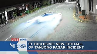 Exclusive footage of Tanjong Pagar incident | ST NEWS NIGHT
