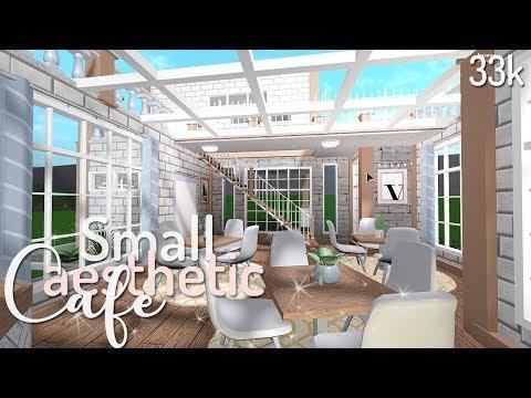 Bloxburg: Small Aesthetic Café 33k
