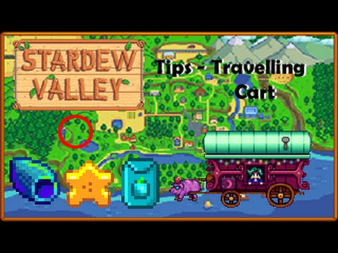 Stardew Valley   Tips - Travelling Cart