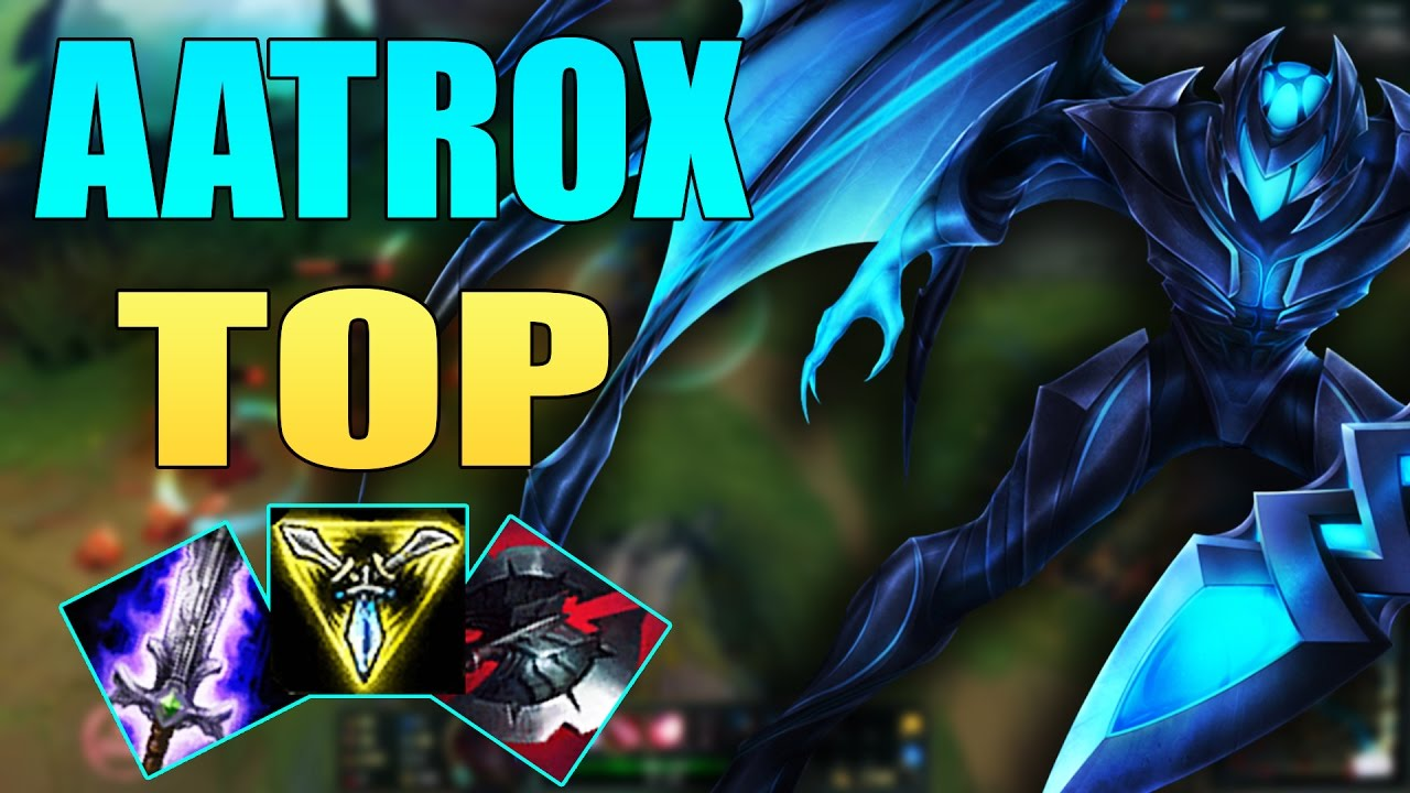 Aatrox TOP | 1vs2 ON TOP | The Power Of Monster | Build And Play | League  Of Legends