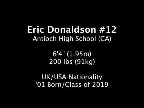 Eric Donaldson Summer 2018 Highlights