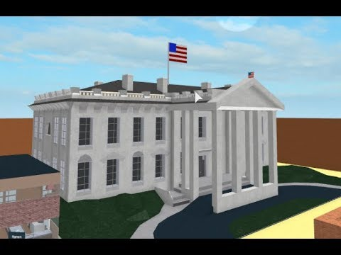 Sandbox Roblox White House Speed Build Roblox Sandbox Youtube