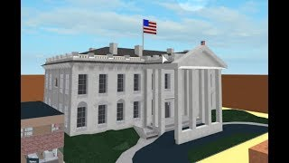 White House Speed Build (Roblox Sandbox)