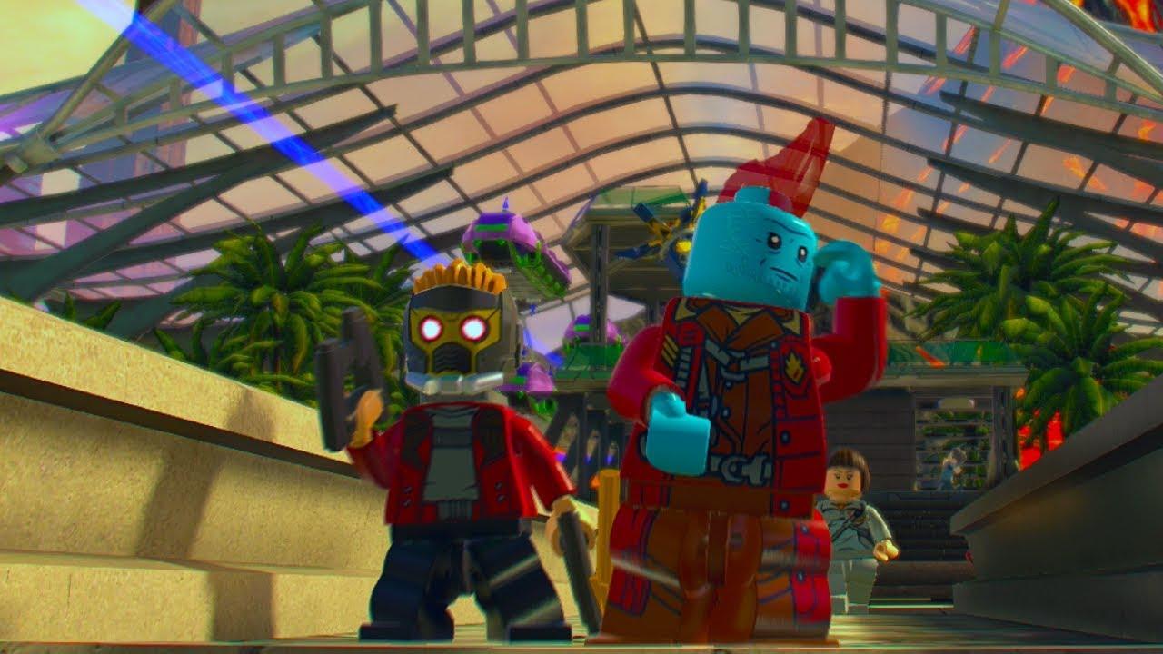 LEGO Marvel Super Heroes 2 Yondu (MCU) Unlock Location + Free Roam Gameplay