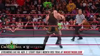 Wwe full match Brock lesner vs Broun Strownman universal championship 2018